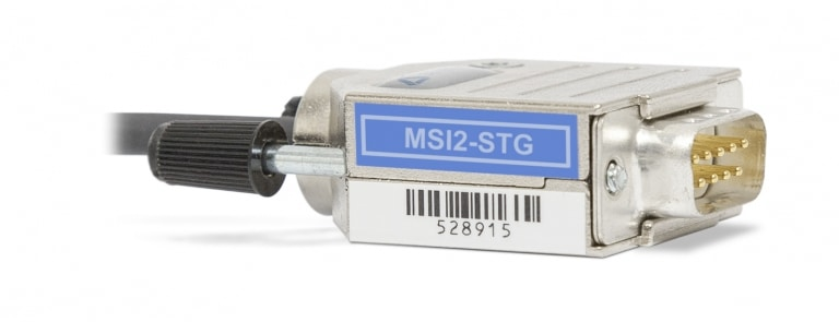 Additional analog input channel MSI2-STG